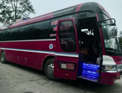 Ekstraordinær 27-timers busstur fra Luang Prabang, Laos til Hanoi, Vietnam