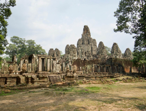 Templene i Angkor Wat