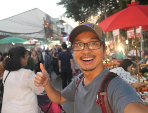 Prøve Songthaew for første gang samt oppleve Sunday Night Marked i Chiangmai!