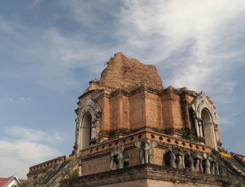 Første inntrykk av Old City i Chiangmai
