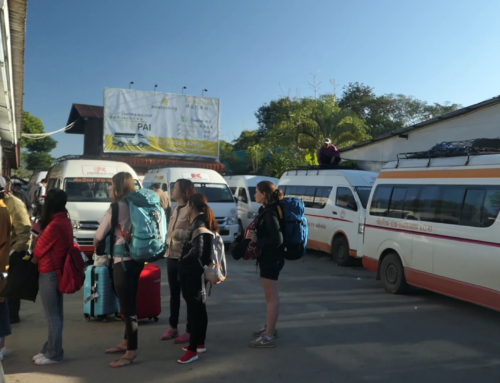 Fra Pai til Chiang Mai, Thailand