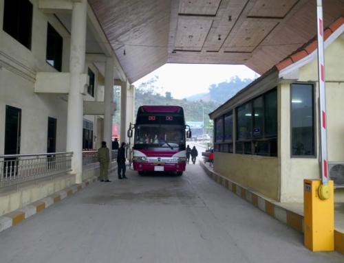 En lang bussreise fra Luang Prabang til Hanoi