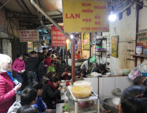 Vandring i Hanoi del 2: Markeder og gatemat