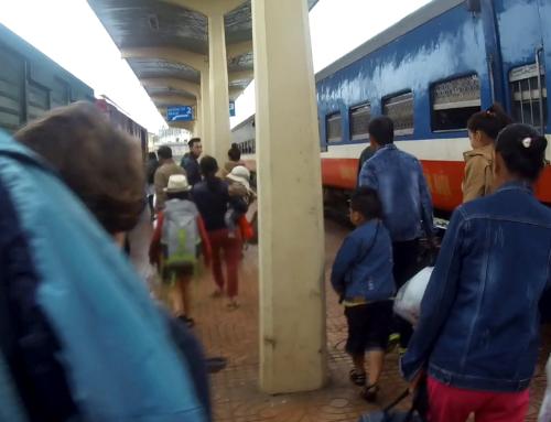 Toget fra Da Nang til Hue