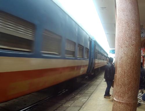 Toget fra Hue til Dieu Tri – Qui Nhon, Vietnam
