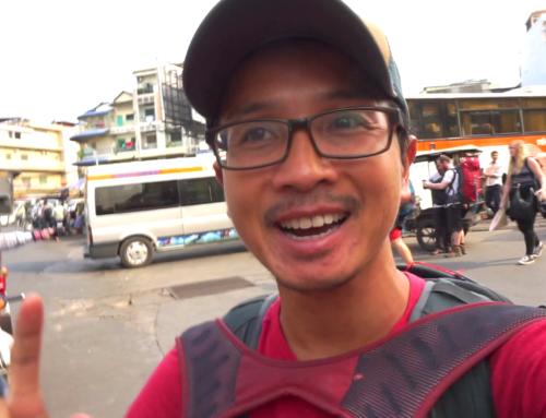 Bussen fra Saigon til Phnom Penh, Kambodsja