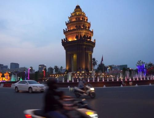 Min første dag i Phnom Penh, Kambodsja