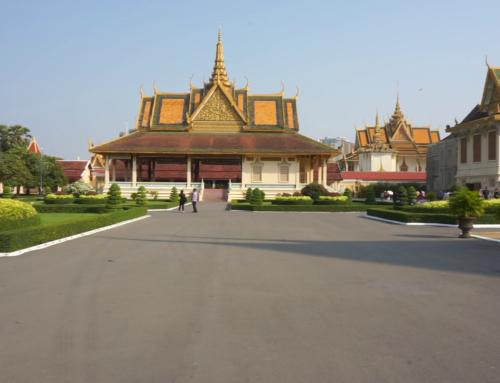 En vandring i Phnom Penh, Kambodsja