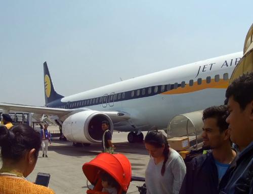 Adjø til Bangkok nok engang og hei til Nepal!