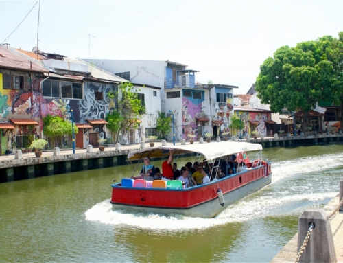 Melaka er en vakker liten UNESCO by i Malaysia!