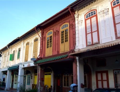 Mine første inntrykk av Melaka