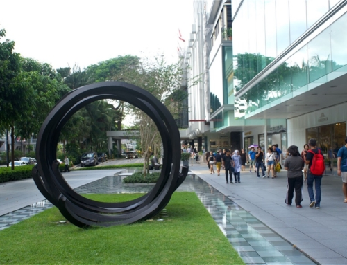 Orchard Road – et shopping område i Singapore