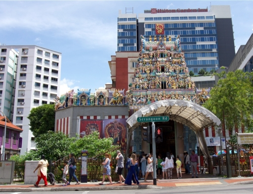 Vandre til Little India i Singapore