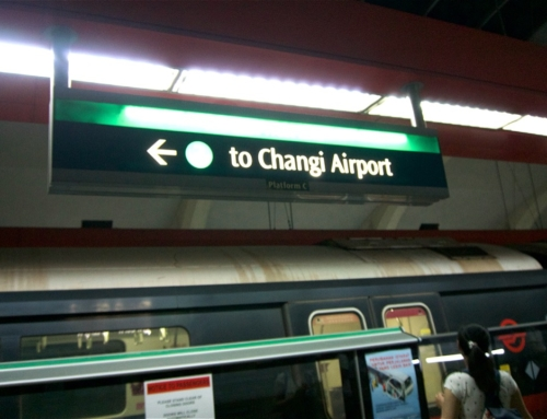 Overnattet ved flyplassen i Singapore |vandring på budsjett