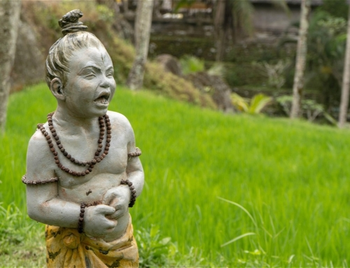 Unike templer i Bali