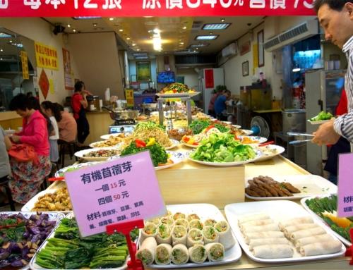 Amazing vegetarian food in Taipei, Taiwan