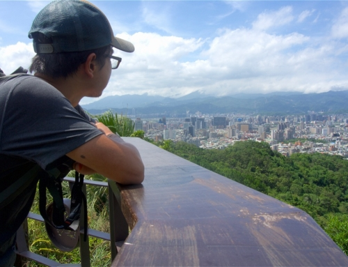 Hiking to the Elephant Mountain in Taipei, Taiwan